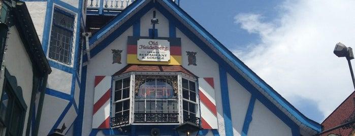 Old Heidelberg German Restaurant & Lounge is one of Tempat yang Disukai Ken.