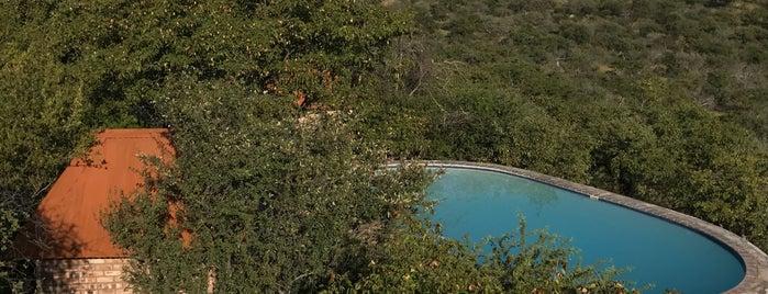 Etosha Safari Lodge is one of Locais curtidos por Manolo.