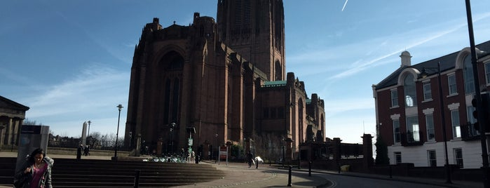 Liverpool Cathedral is one of Liverpool.