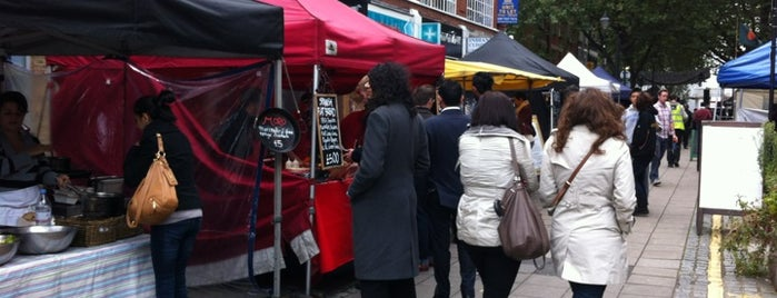 Exmouth Market is one of London Markets & Food Stalls.