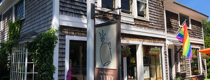 The Brown Jug is one of cape cod.