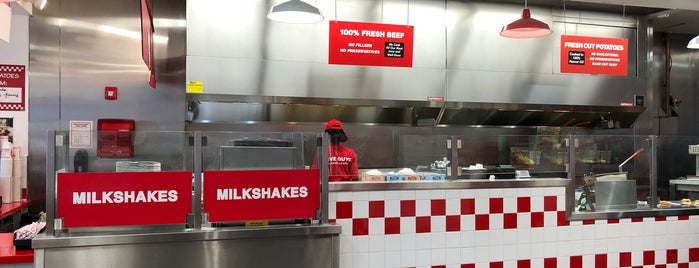 Five Guys is one of Low Carb Friendly.