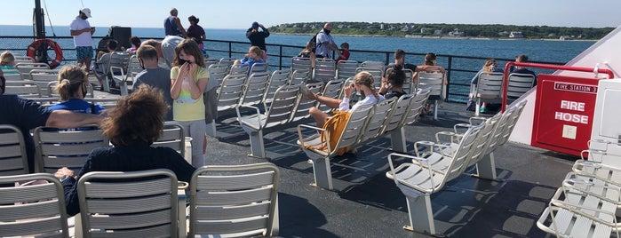 MV Nantucket (SSA Ferry) is one of Tempat yang Disukai Danyel.