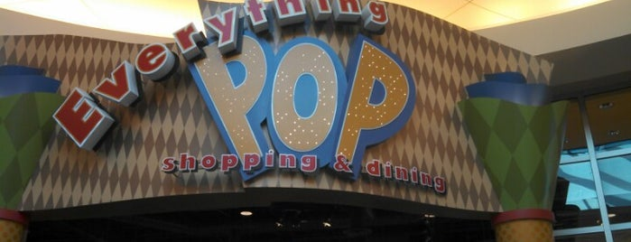 Everything POP Shopping & Dining is one of Orte, die Lindsaye gefallen.