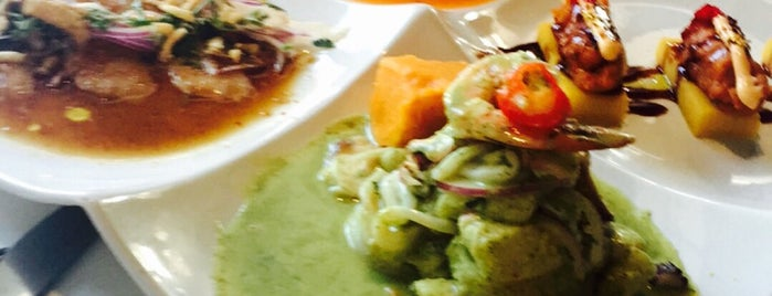 ceviche 105 is one of Tempat yang Disukai Patty.