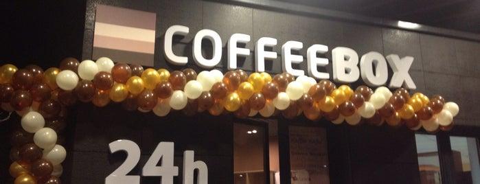 CoffeeBox is one of Dmitry: сохраненные места.