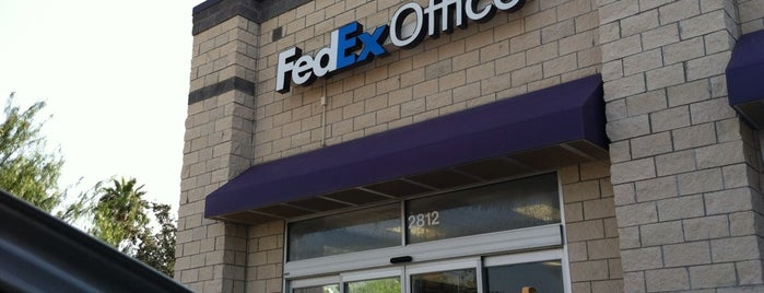 FedEx Office Print & Ship Center is one of Texas.