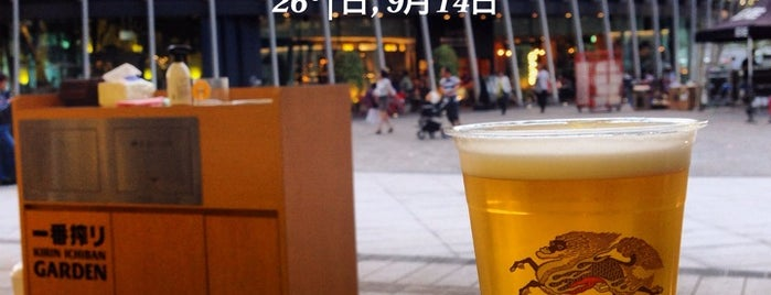 一番搾り GARDEN 大阪 is one of Posti salvati di ぎゅ↪︎ん 🐾.