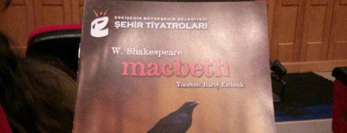 Eskişehir Büyükşehir Belediyesi Şehir Tiyatroları is one of Eskişehir Mekan.