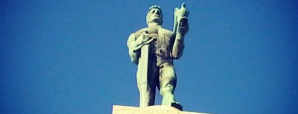 Pobednik is one of Belgrad.