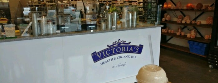 Victoria's Health & Organic Bar is one of Ozgeさんの保存済みスポット.