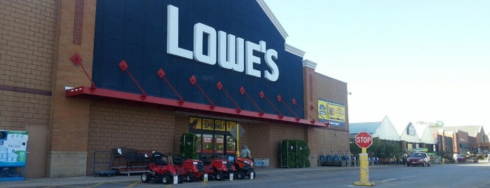 Lowe's is one of Places I End Up Frequently.