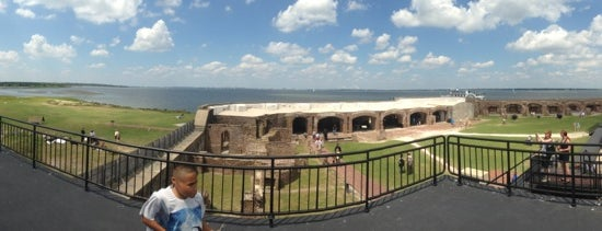 Fort Sumter National Monument is one of Charleston, SC.