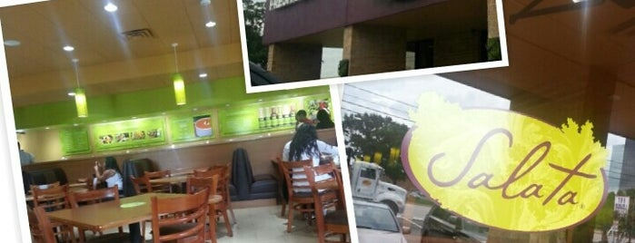 Salata is one of Alex-Airbrush's Liked Places.
