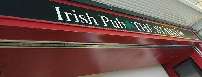 Irish Pub Stásiún is one of キヨ'ın Beğendiği Mekanlar.