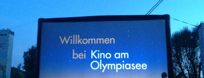 Kino am Olympiasee is one of Da möchte ich hin ☺.
