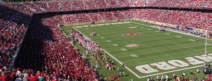 Stanford Stadium is one of Sporting Venues To Visit.....