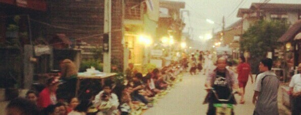 Chiang Khan Walking Street is one of ขอนแก่น, ชัยภูมิ, หนองบัวลำภู, เลย.