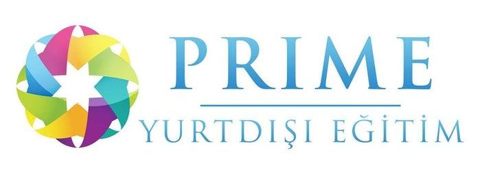 Prime Yurtdışı Eğitim is one of Tempat yang Disimpan Dyg.