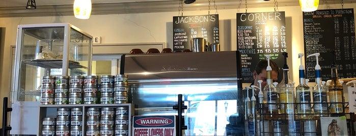 Jackson's Corner Cafe is one of Posti salvati di Rachel.
