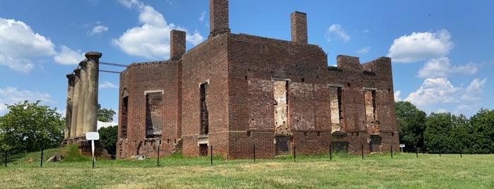 Barboursville Ruins is one of Virginia Jaunts.