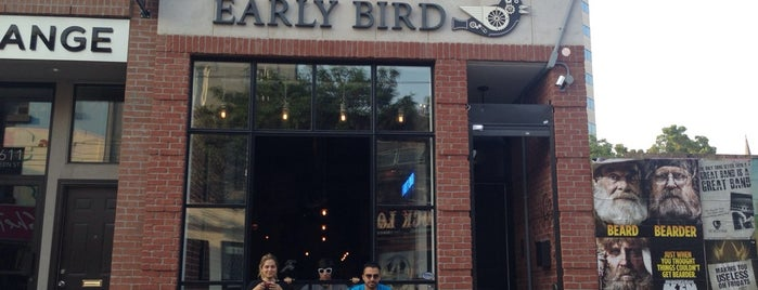 Early Bird Espresso & Brew Bar is one of Lugares guardados de Darcy.
