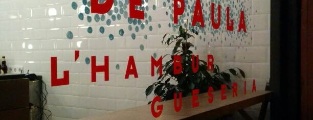 De Paula: l'Hamburgueseria del Poble Sec is one of Happy Barcelona.