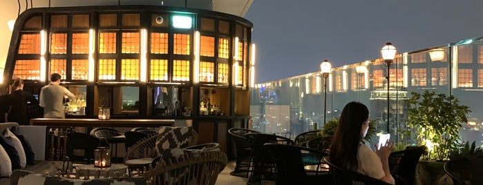 Penthouse Bar + Grill is one of Bangkok - Rooftop Bars.