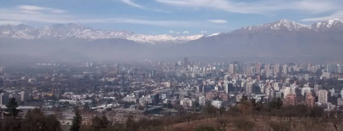 Cerro San Cristóbal is one of Santiago de Chile.