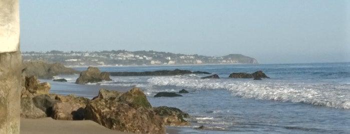 Lechuza Beach is one of LA.