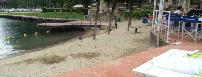 Lido di Campione is one of Beach.