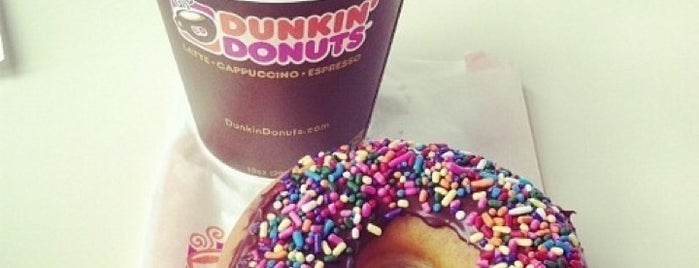 Dunkin Donuts is one of Paris with sise.