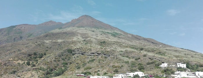 Stromboli is one of South Italy.