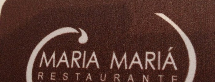 Maria Mariá is one of My food places.