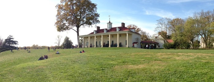George Washington's Mount Vernon is one of Washington DC.