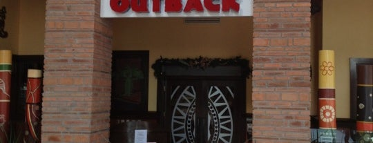 Outback Steakhouse is one of Locais salvos de Oscar.