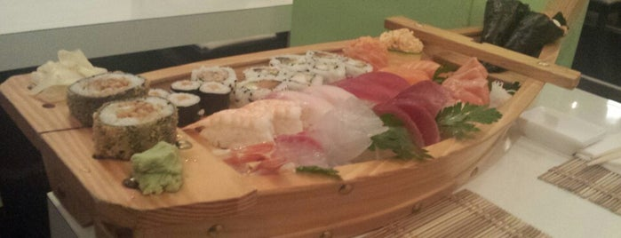 San sushi is one of Simply the best.