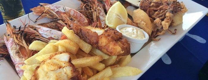 Vassos (Psarolimano) Fish Tavern is one of 💞Оксана💞'ın Beğendiği Mekanlar.