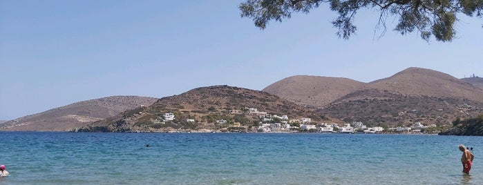 Lottos Beach is one of Syros.