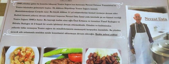 Yenice Izgara Nevzat Usta is one of Locais salvos de Şevket.