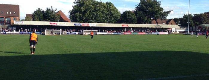 Marston Road is one of Non-League Football Grounds (Northern).