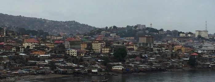 Freetown is one of The Best of Sierra Leone.