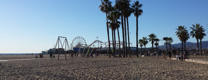 Santa Monica State Beach is one of Kelley's Liked Places.