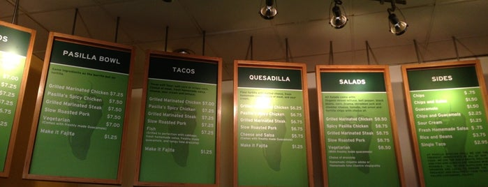 Pasilla Mexican Grill is one of Ryan : понравившиеся места.