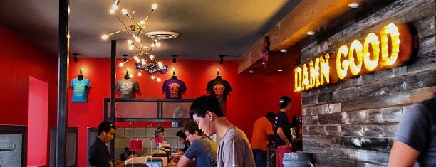 Torchy's Tacos is one of Austin noms.