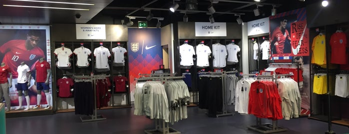 Wembley Stadium Store is one of London.