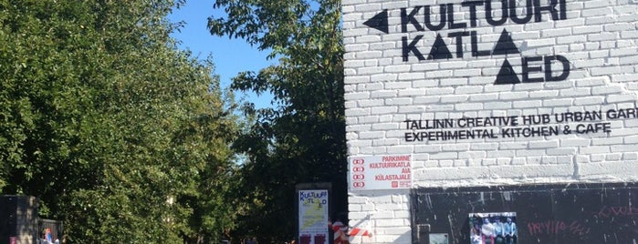 Kultuurikatla Aed is one of Hipster Tallinn.