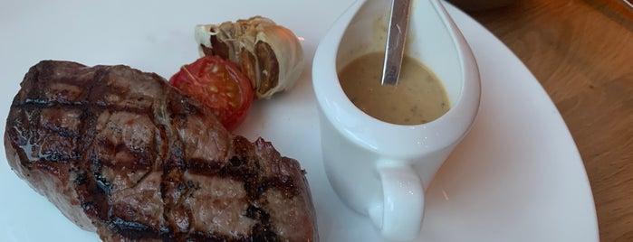 DSTRIKT Steakhouse is one of VIE.