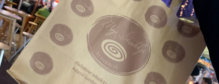 Moji Štruklji@Central Market is one of Ljubljana.