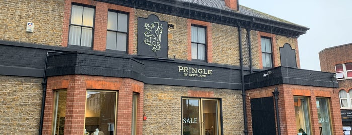Pringle of Scotland Outlet is one of London.